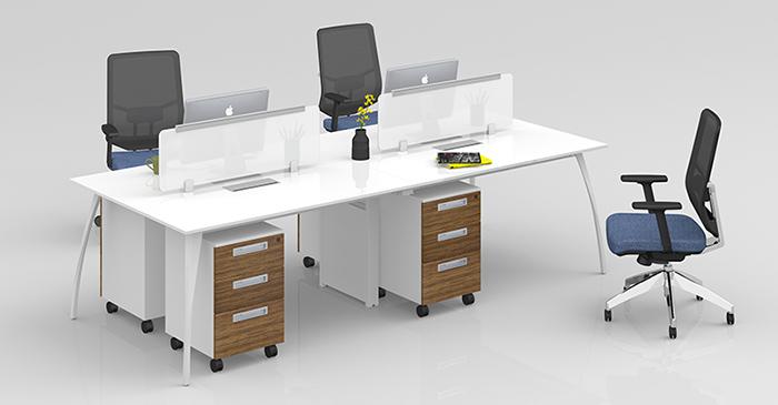 屏風組合桌,屏風辦公桌,組合屏風辦公桌