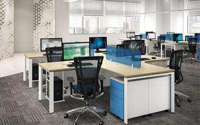 員工辦公桌 BQ-ZH6041