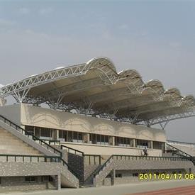 广西体育看台膜结构