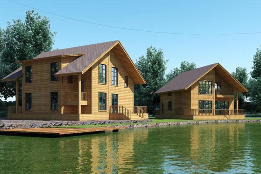 美式简约住宅 钢结构木屋 双层别墅型住宅 三房两室 (2).jpg
