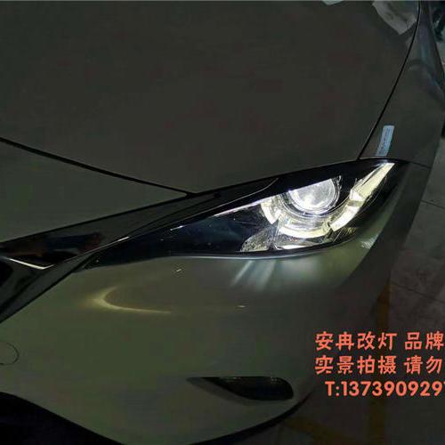 马自达 CX-4改灯