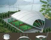 球场膜结构