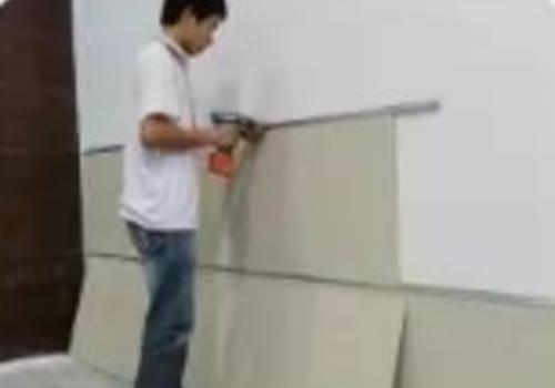 板材★安装