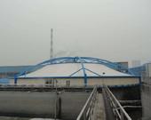 充气/污水池加盖/沼气包膜结构