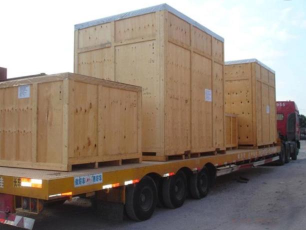 木箱包装出货