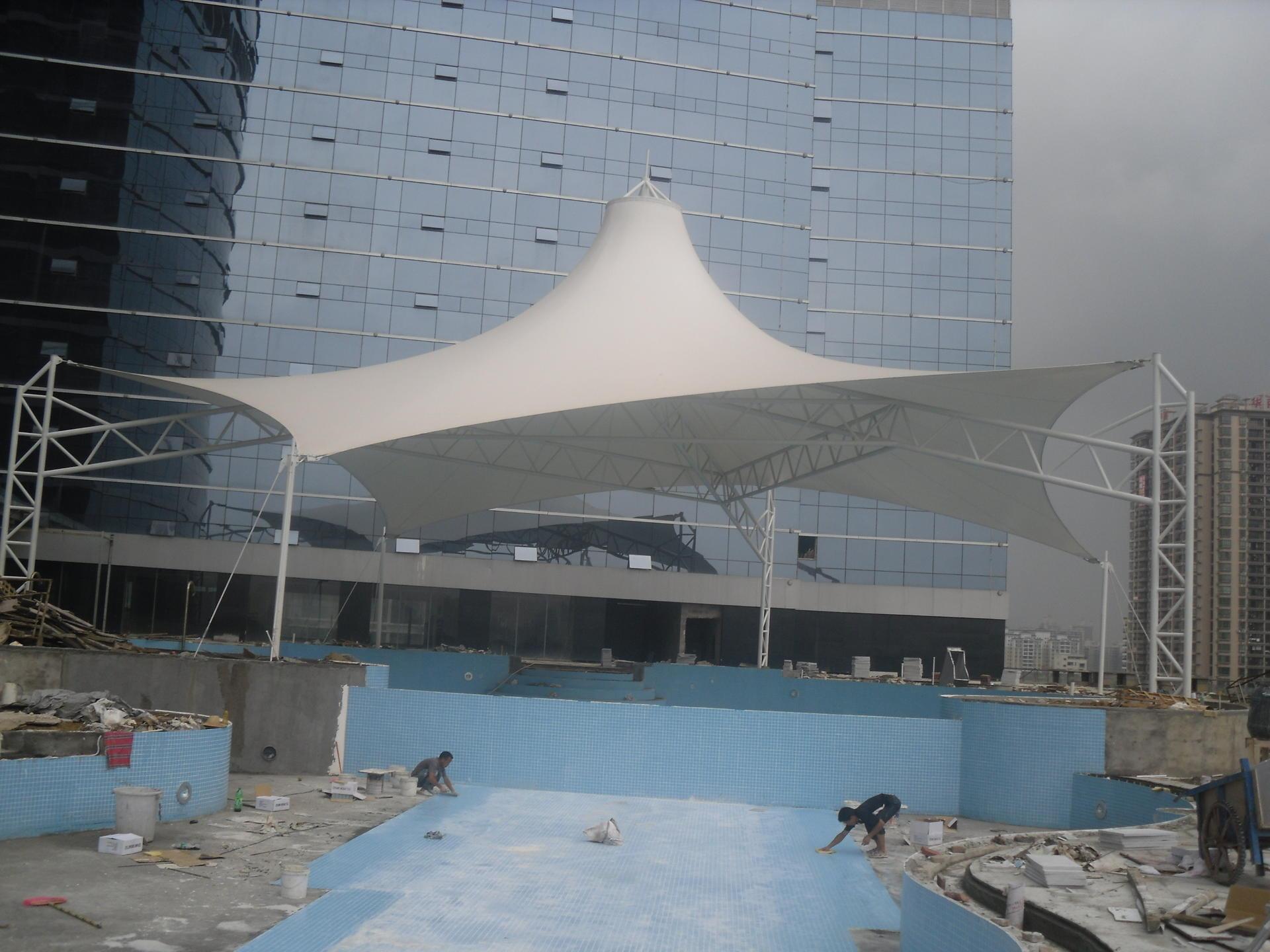 凯宾斯基酒店膜结构