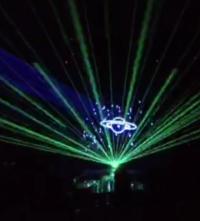 定制激光飞碟  视频