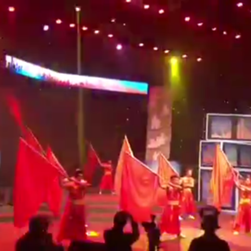 旗舞  视频