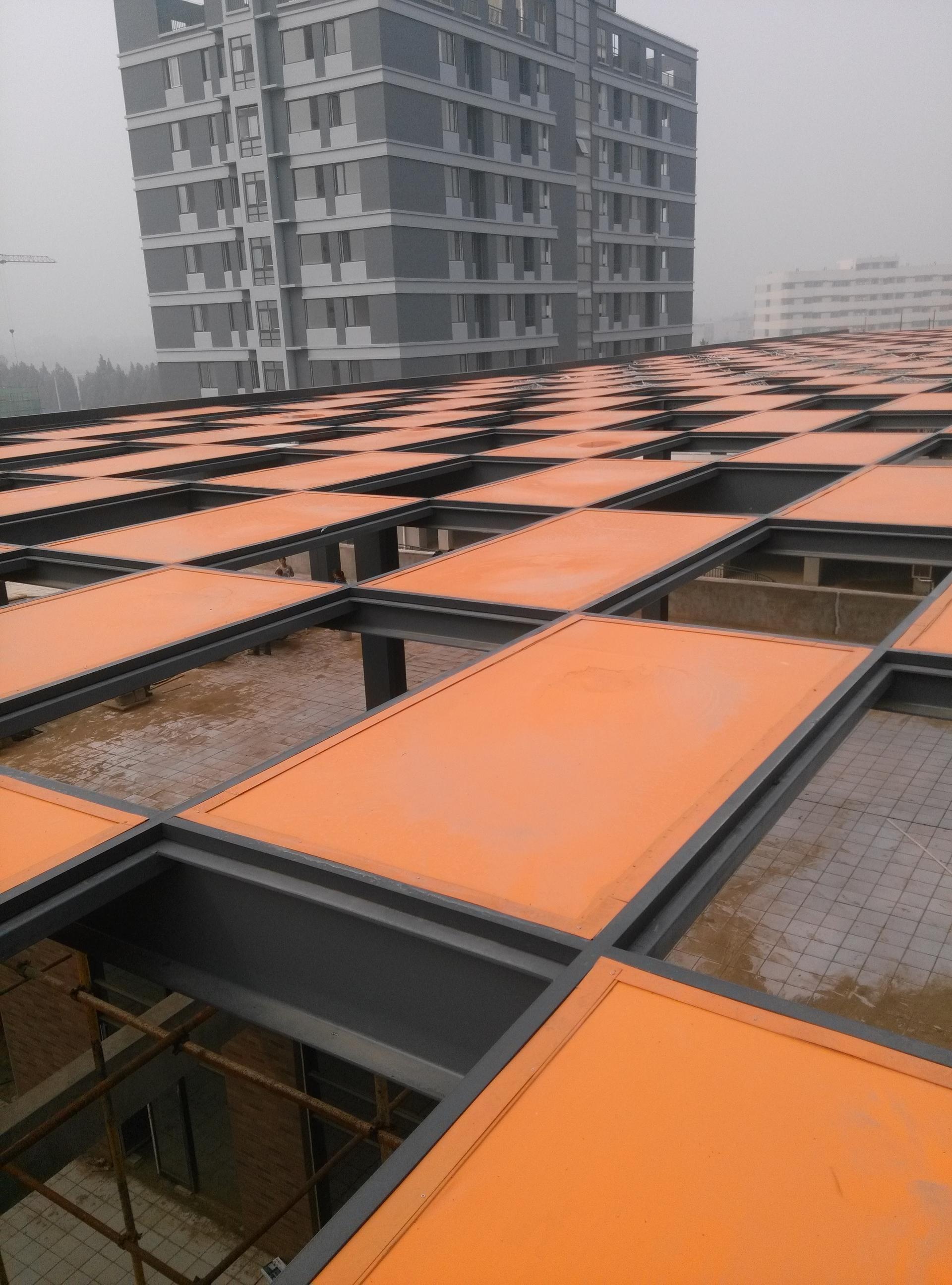 河南安阳中心区一期中庭膜结构工程