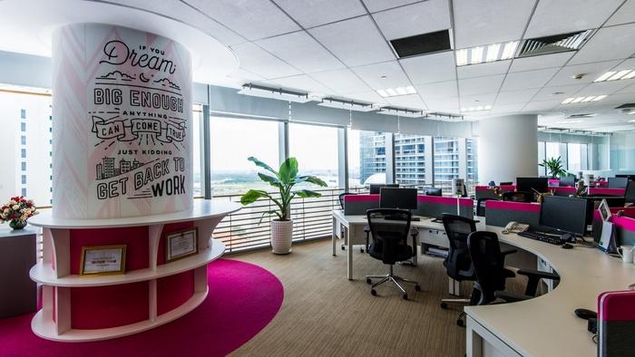 办公室设计中色彩运用的原则