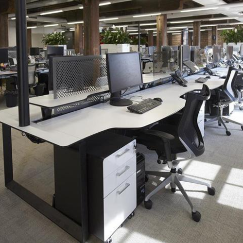 员工区办公家具设计