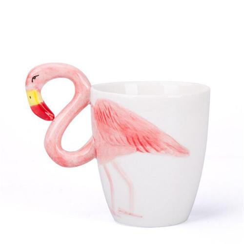 火烈鸟陶瓷马克杯