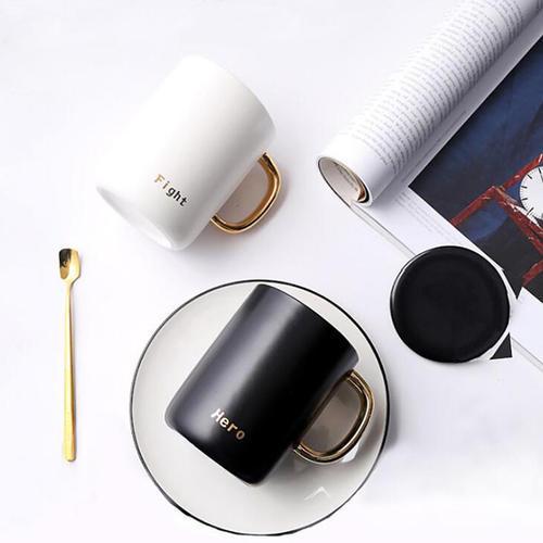 欧式陶瓷马克杯水杯
