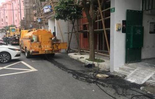 青浦小区下水道清洗维保、管道疏通、管道清淤检测
