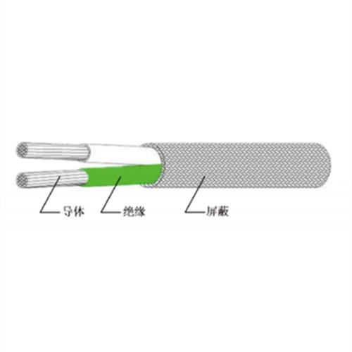 AFkP-250系列可溶性聚四氟乙烯绝缘双芯屏蔽安装线