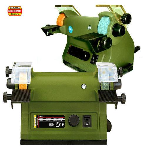 德国迷你魔Proxxon微型砂轮机家用抛光机电动台式小型磨刀机28030