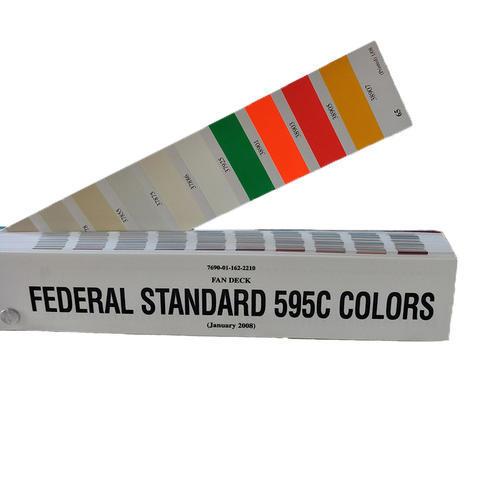 美国联邦色卡FED-STD-595C标准色卡