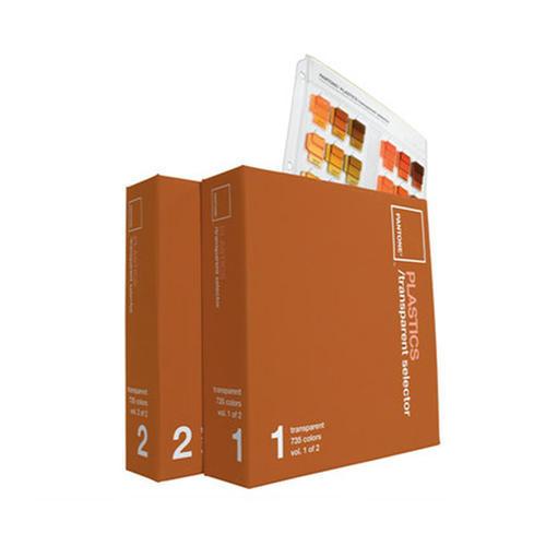 PANTONE彩通塑胶系列选色手册 PBT100 国际标准透明色塑胶色卡