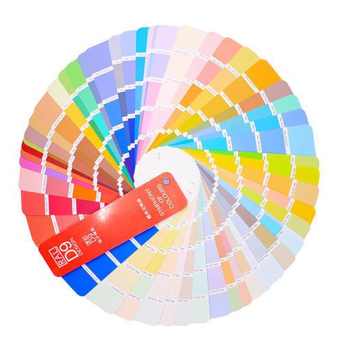 色系RAL-D9劳尔色卡设计师版建康色彩290色 简约版标准色卡