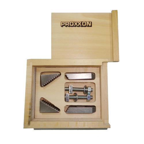 PROXXON迷你魔 微型阶梯夹组 NO24256用于十字工作台KT70