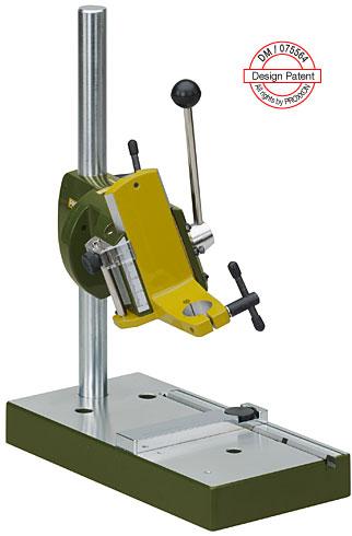 钻磨机支架,通过支架可以成为一个标准的台钻,并且可以取代夹持器用来使用软轴。