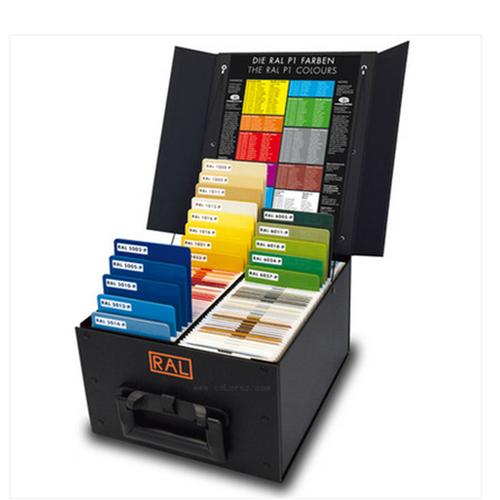 德国原装ral劳尔色卡塑胶色卡P1塑料片色卡聚丙烯塑胶片