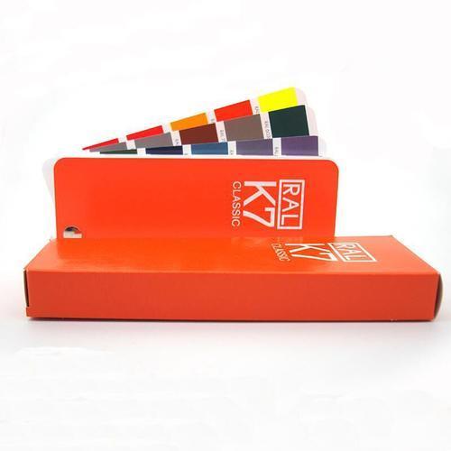 德国RAL劳尔国际标准油漆涂料色卡K7欧标标准色样k7油漆色卡