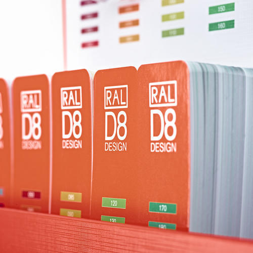 德国ral色卡 设计师版 RAL DESIGN SYSTEM D8劳尔色卡