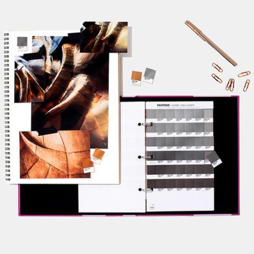 PANTONE彩通金属色色票GB1507国际标准金属色C卡可撕式色票