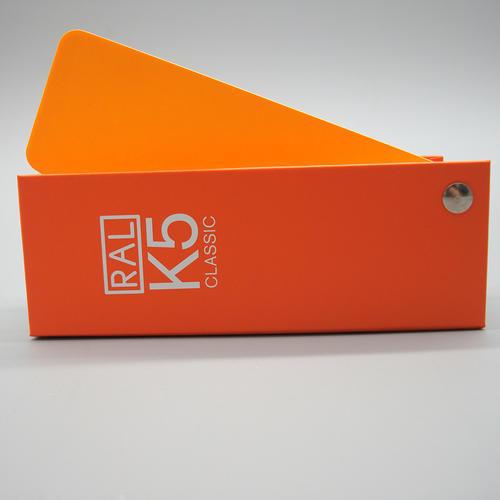 德国原装国际标准standard印刷油漆涂料RAL劳尔色卡k5