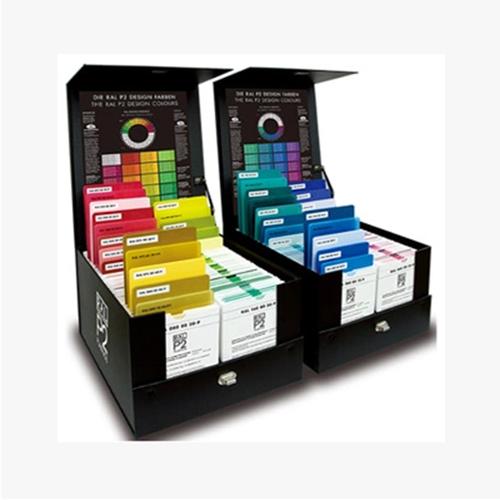 德国劳尔 ral 色卡 塑胶色卡 P2 塑料片色卡 材料:聚丙烯劳尔色卡