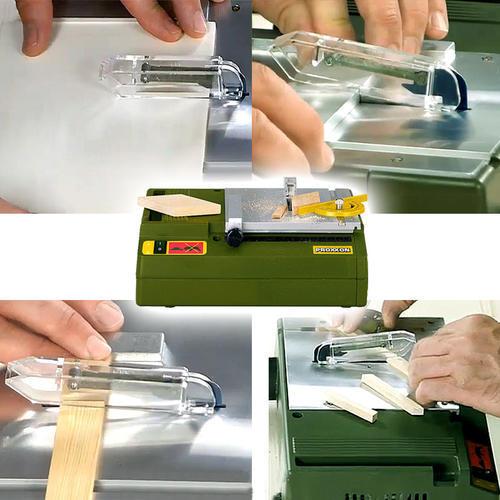 德国迷你魔Proxxon微型切割机家用圆盘锯木工模型工具小电锯27006