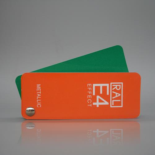 RAL E4 实效 色卡 国际通用标准色卡 油漆色卡 欧标色劳尔色卡