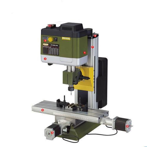 PROXXON迷你魔 臺式精密鉆銑床 FF500/CNC NO24340數控加工可擴展