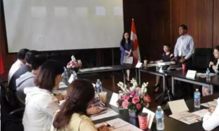 加拿大牛顿国际中学与广电大陆国际旅行社深度交流合作