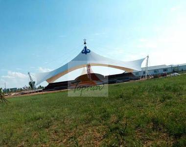 内蒙古鄂尔多斯达汉庙赛马场膜结构工程