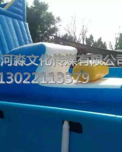 2018安徽·阜阳·碧桂园55米水上冲关火爆开启
