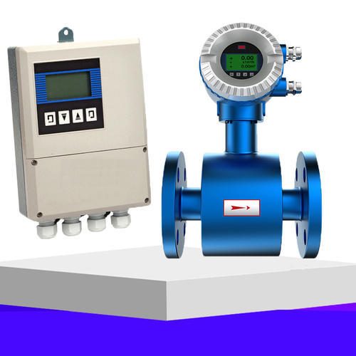 自来水计量表双氧水,乙酸,酸碱导电液体分体式电磁流量计