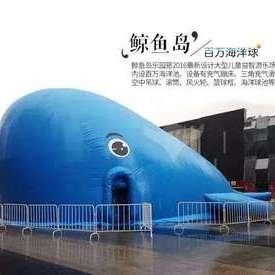 鲸鱼岛海洋球乐园