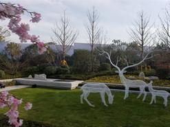 西安锦绣前城批量雕塑