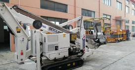 oil&steel蜘蛛车2190服务西南地区某大型场馆建设