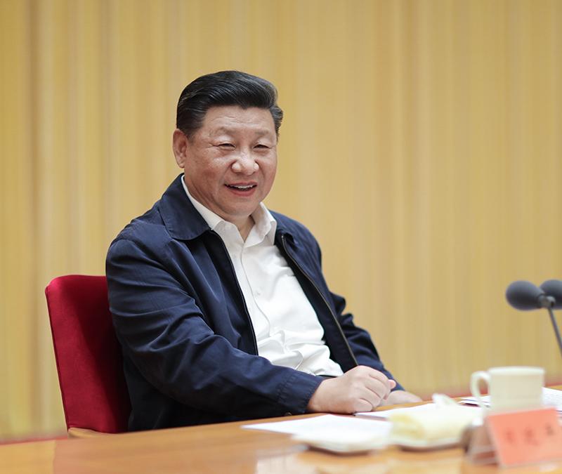 8月21日至22日,全国宣传思想工作会议在北京召开。中共中央总书记、国家主席、中央军委主席习近平出席会议并发表重要讲话。新华社记者 鞠鹏 摄