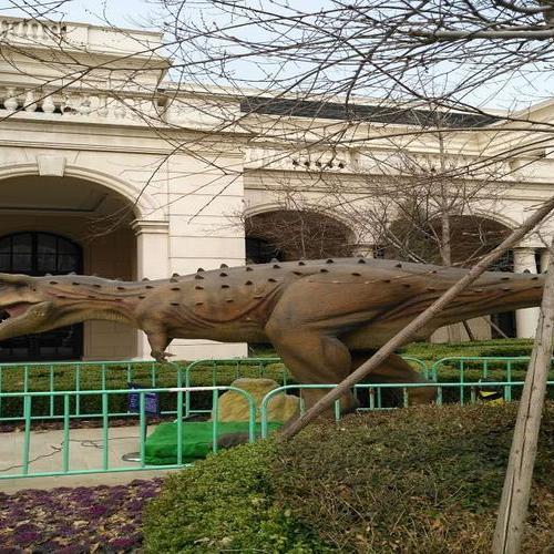 2017年-2018年度 山东省寿光市德润绿城·百合园恐龙展活动