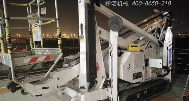 oil&steel蜘蛛车助力上海虹桥高铁站翻新工程