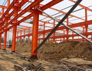 钢结构厂房拆除-1