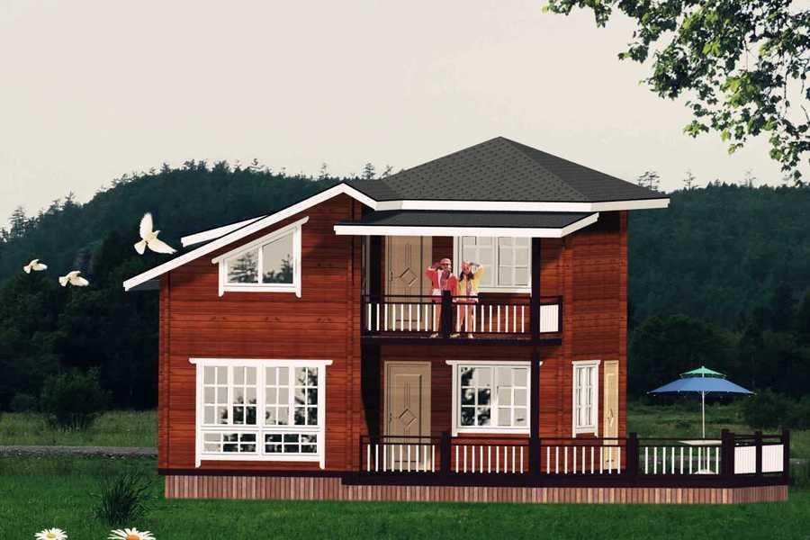 材料简单创意无限筑造个性风格木屋