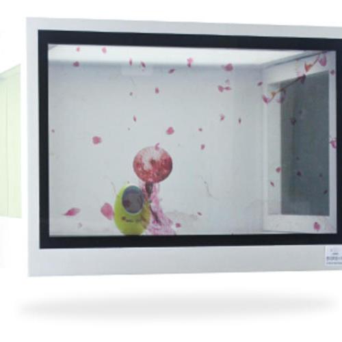 电容触摸透明展示柜