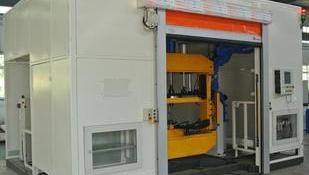 机器人焊接房防护门