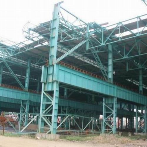 钢结构厂房拆除-2