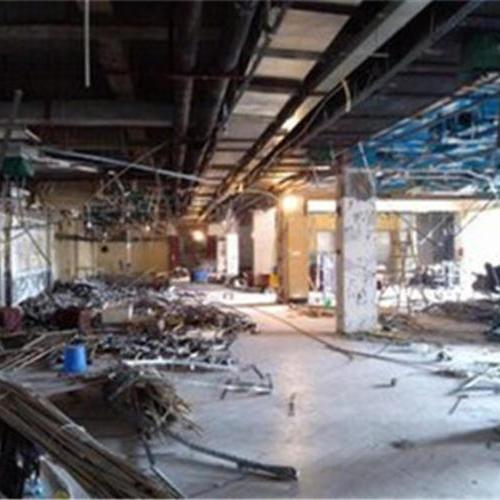 钢结构厂房拆除-3